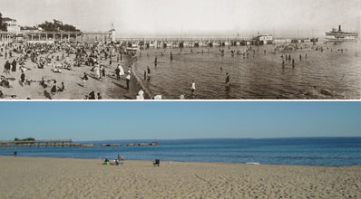 crystal beach then and now